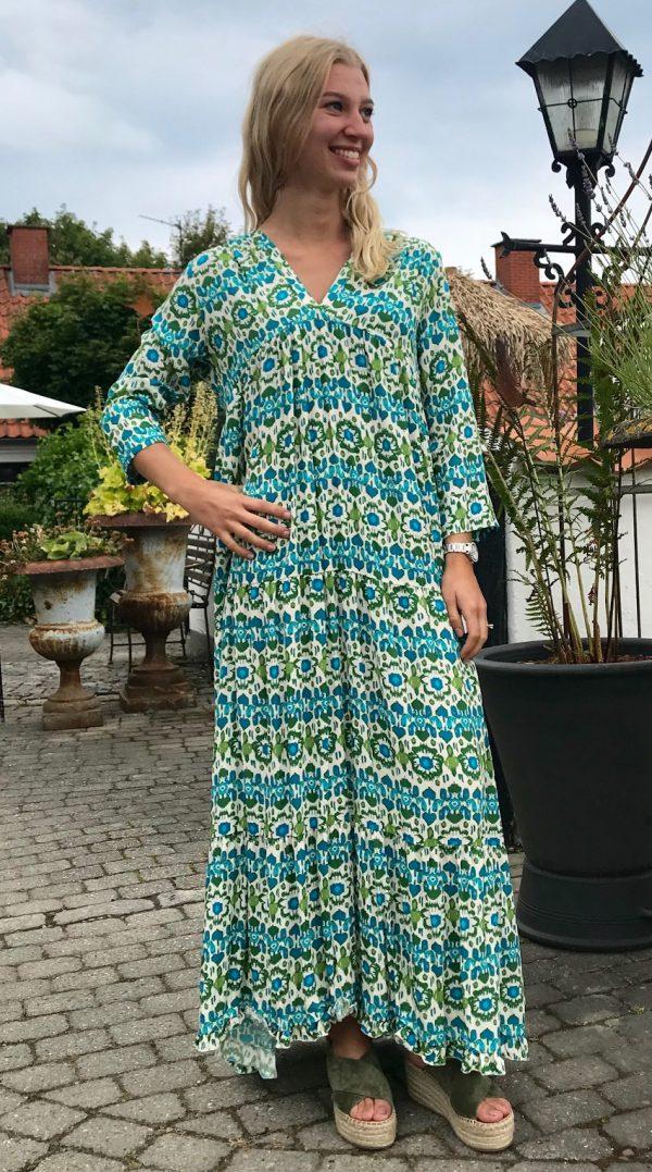 Banditas | Green Flower | Long Dress