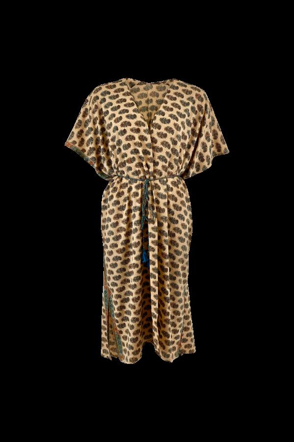 LUNA kimono dress desert blue (primary)