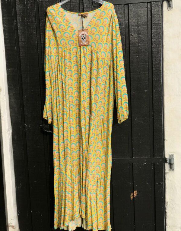 Banditas long dress yellow