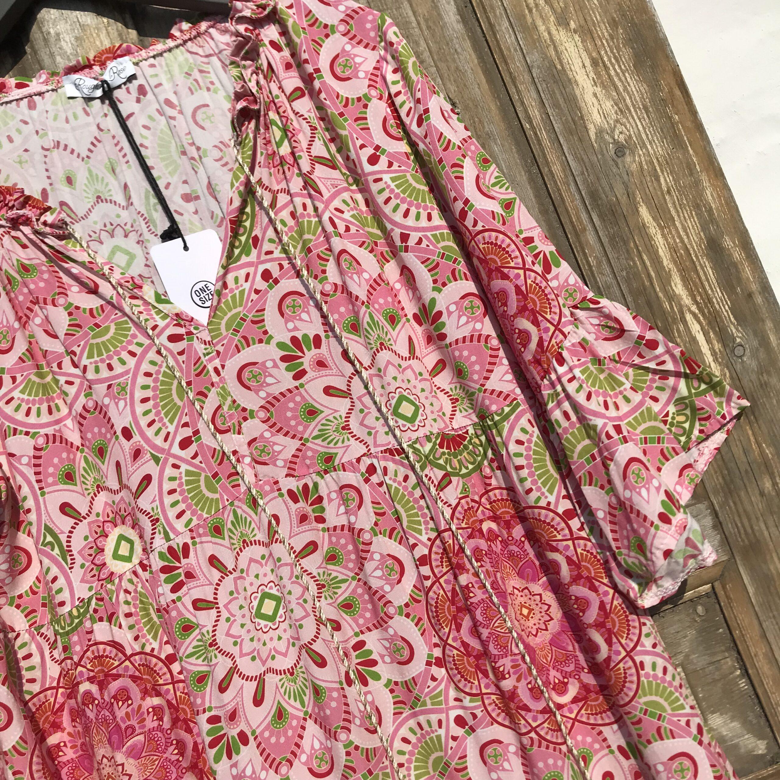 pink kjole1